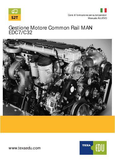 S2T MAN: GESTIONE MOTORE COMMON RAIL MAN EDC7/C32