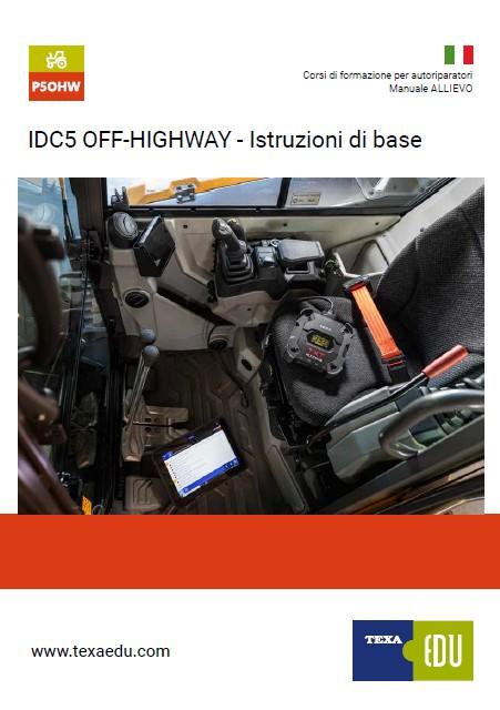P5OHW: IDC5 OFF-HIGHWAY ISTRUZIONI DI BASE